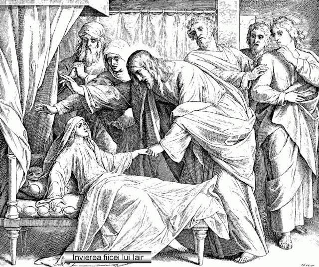 pilda invierea ficei lui iair