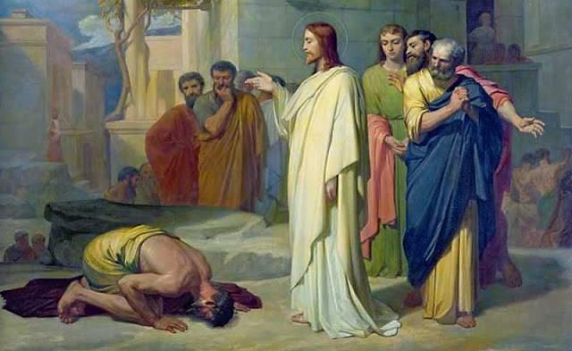 vindecarea celor zece leprosi