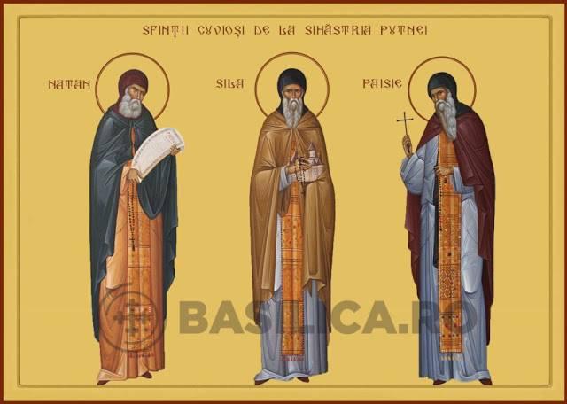Sfinții Cuvioși Sila, Paisie și Natan
