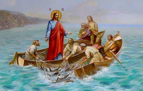 Duminica a XVIII a dupa Rusalii-Pescuirea minunata