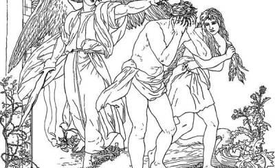 izgonirea lui adam din rai