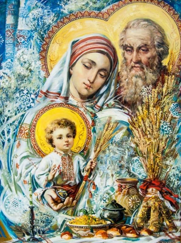Maica Domnului si Sf Iosif