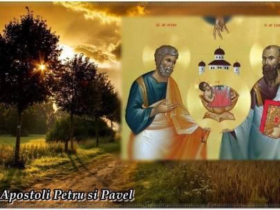 SĂRBĂTOAREA SFINŢILOR APOSTOLI PETRU ŞI PAVEL