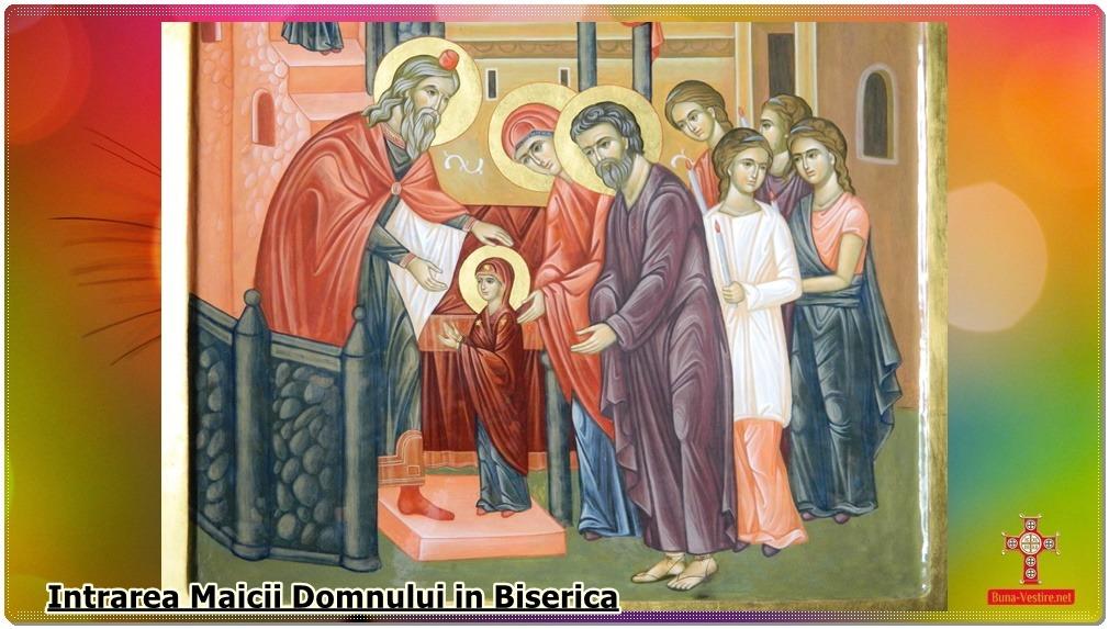 Intrarea în biserică- de Zorica Lațcu