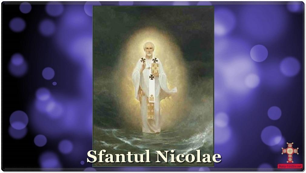 Pilda vieţii Sf. Nicolae