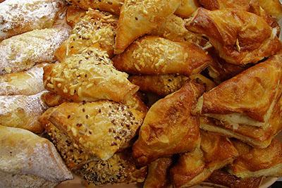 Latvian bacon rolls