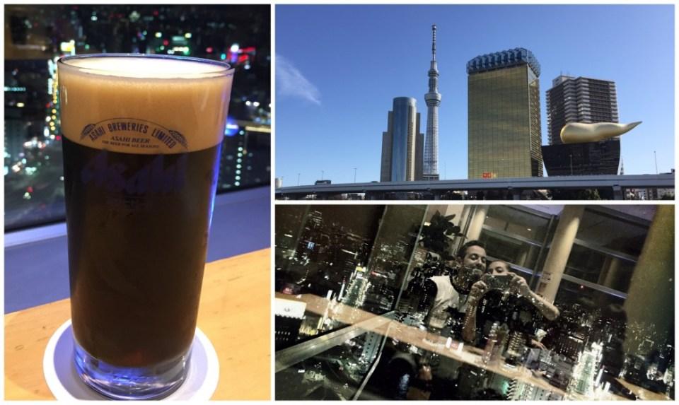 Asahi-Hauptquartier und Bar