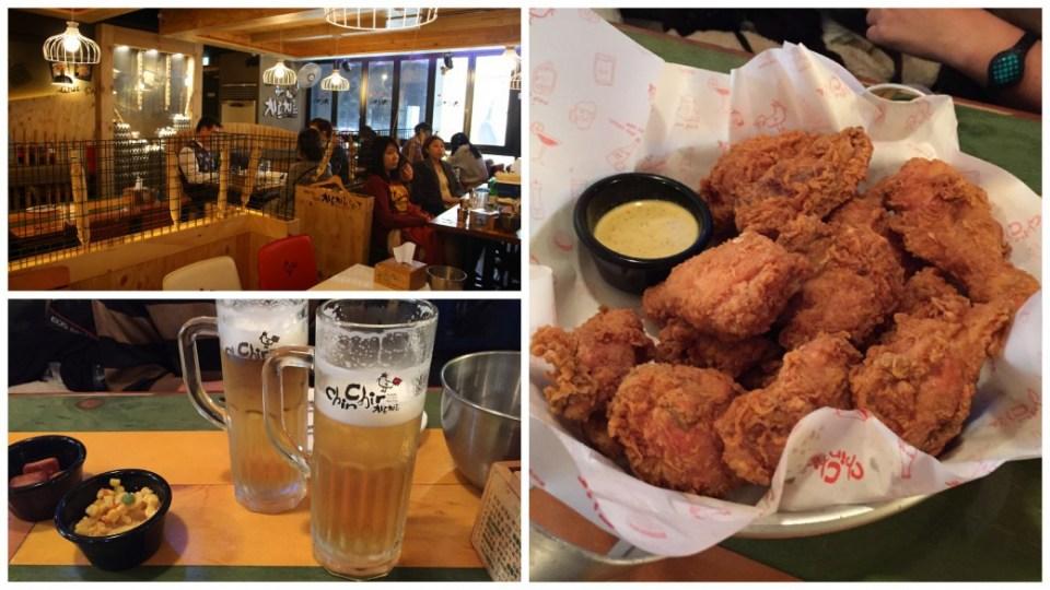 Mariniert, paniert, frittiert, absorbiert: Chicken & Beer