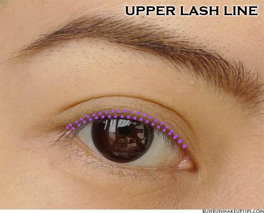 Eye Makeup Placement Moreover How To Apply Eye Makeup Diagram