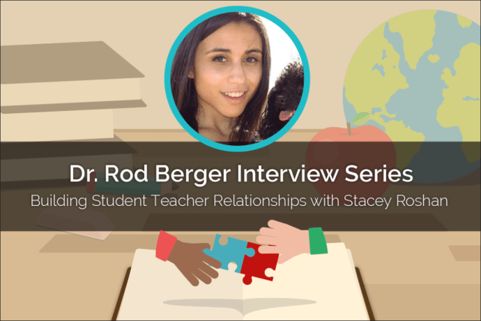 In this post, Stacey Roshan, an educator from Maryland, discusses how educational technology can be used to deepen the student-teacher relationship.