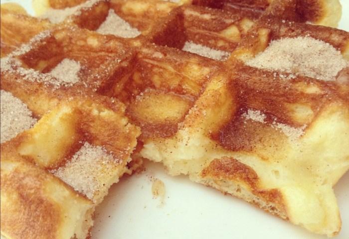 Churro Waffle Recipe
