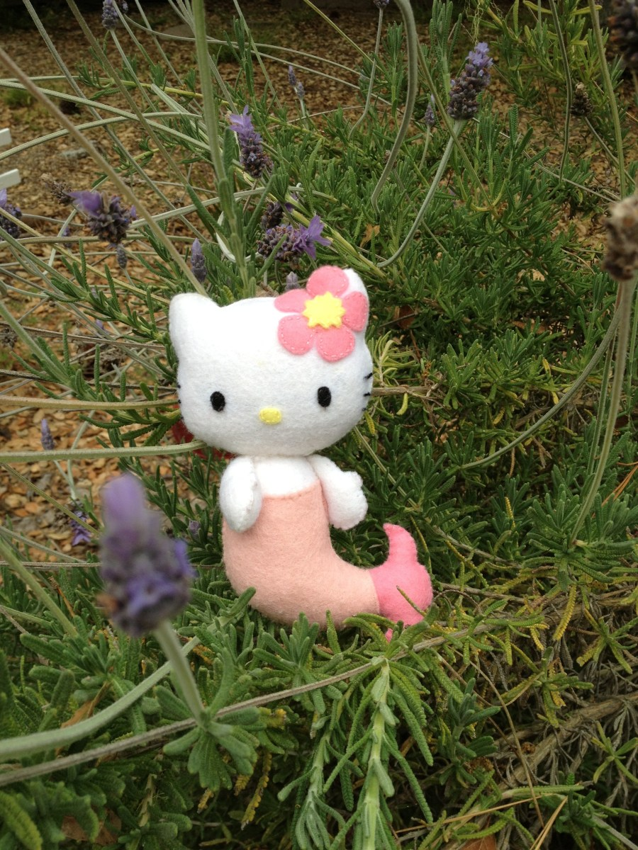 Hello Kitty Mermaid Felt Doll