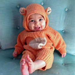 Knitted Baby Bear Craftgawker