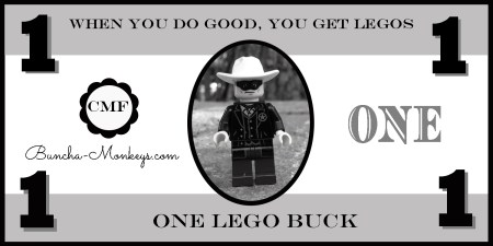 Lego bucks guy 2