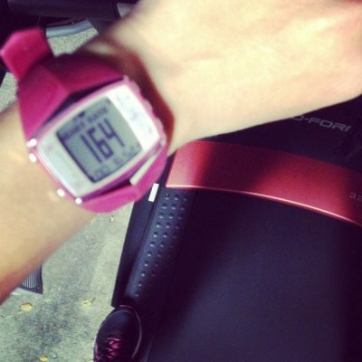 How my first heart rate training session almost made me cry