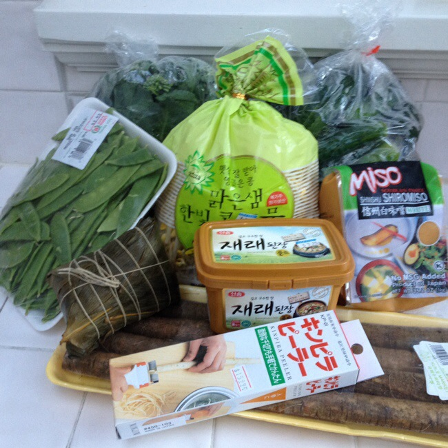 Asian market goodies and the awesomest dream kitchen item