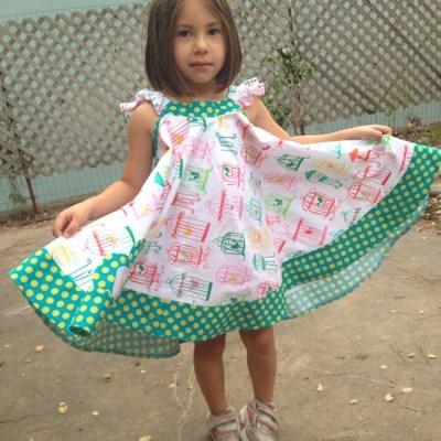 Birdcage Dress – Simplicity 2466