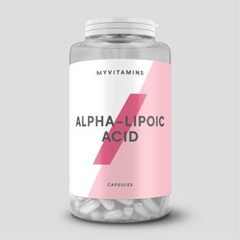 マイプロテインでおすすめのダイエットサプリ・α-リポ酸 アンチオキシダント (抗酸化物) カプセル