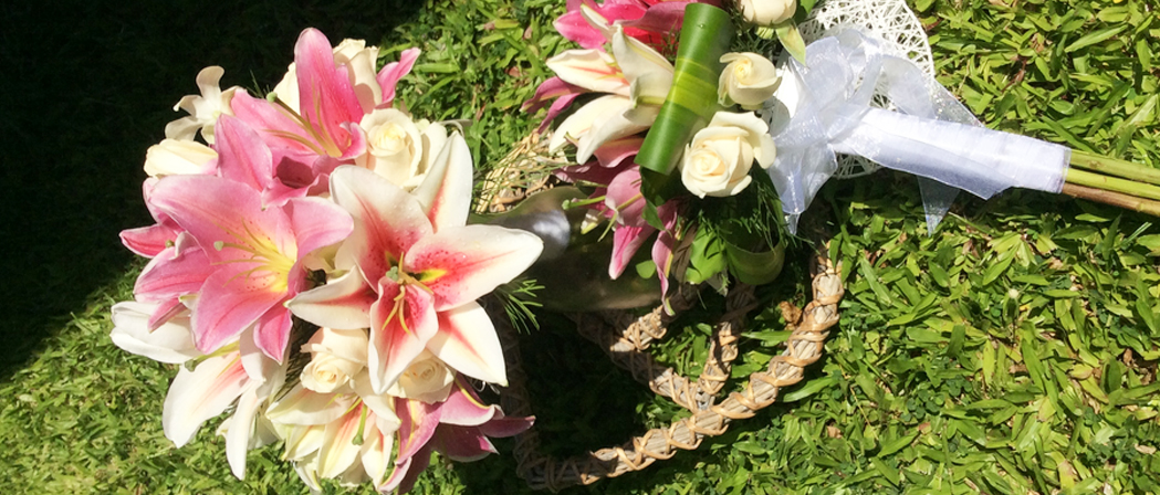Beautiful Wedding Flowers By Bunch & Judys Florist In Cairns