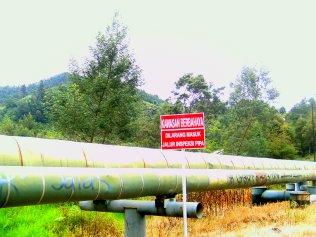 Listrik Dieng berasal dari gas bumi