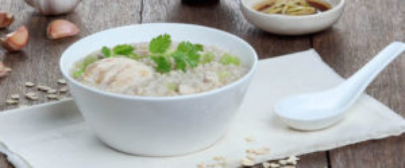 Resep Hainan Chicken Oatmeal