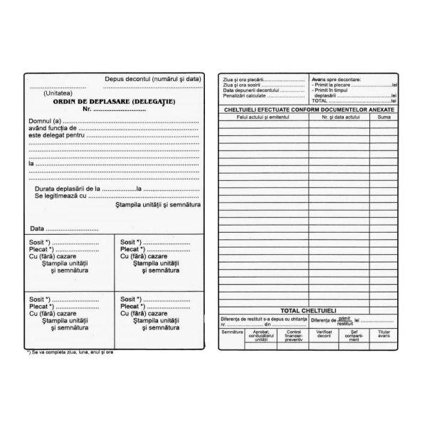 documente necesare pentru deplasare