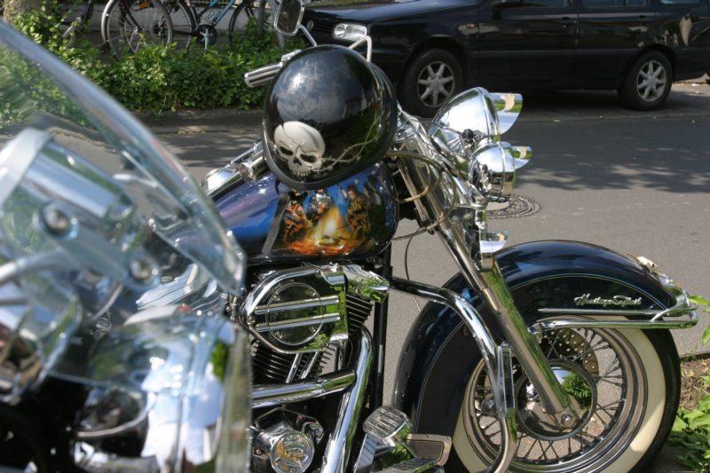 Biker-Treffen: 823 Fahrer und tausende Zuschauer