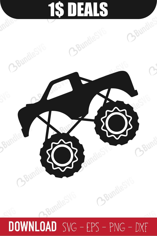 Download Monster Truck SVG Cut Files SVG Download | BundleSVG.com