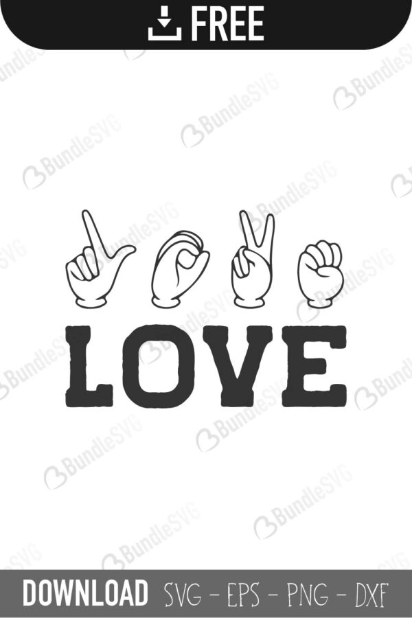 I Love You Sign Language Svg : language, Language, Files, Download, BundleSVG
