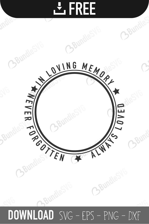 Download Memorial SVG Cut Files Free Download | BundleSVG