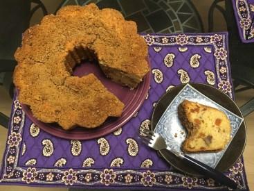 Apricot coffee bread