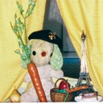 Bun E. Boniface in bilingual French story time at University Park Library in Dallas, TX
