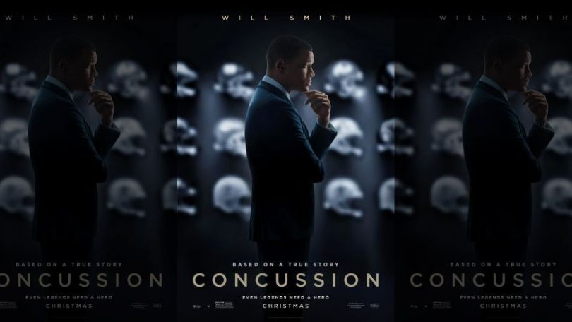 Concussion starring Will Smith