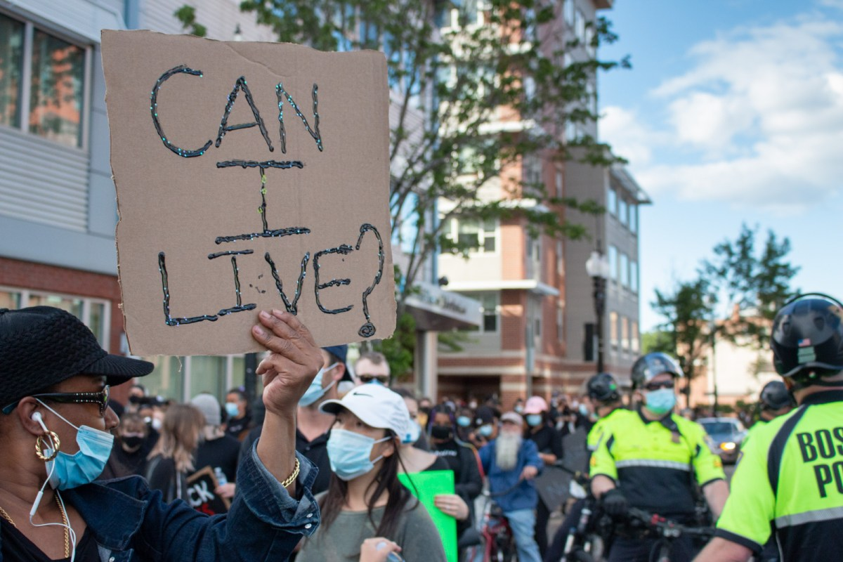 Peaceful Protests In Boston Turn Violent Boston University News Service