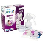 pompa asi avent natural comfort manual breastpump