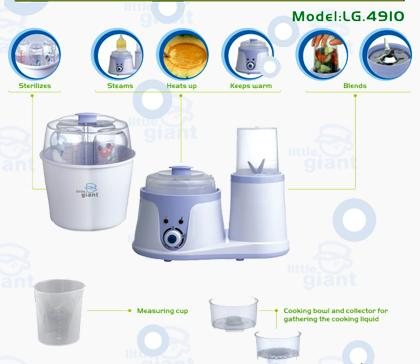 lg 4910  Little Giant Food Processor