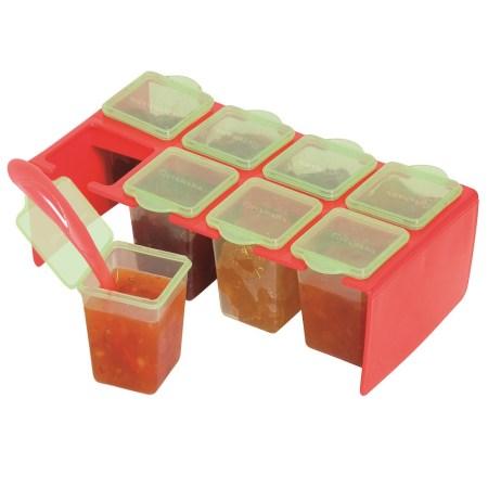 Cleva Portions Freezer Storage Pots