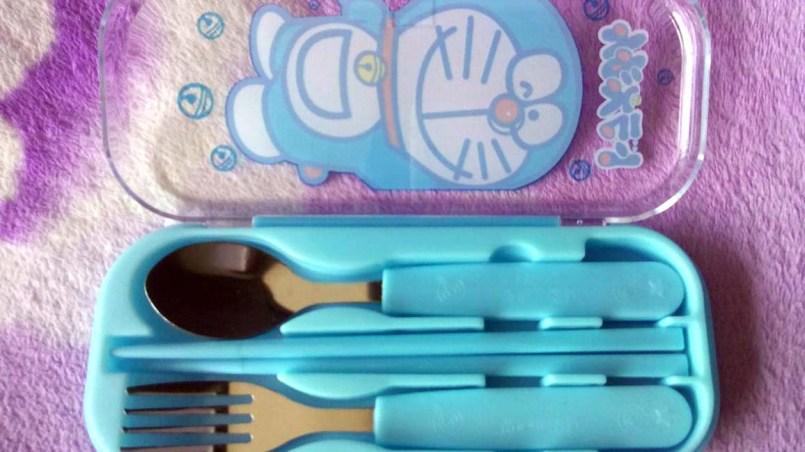 Sendok Anak Cartoon Stainless Steel Cutlery ALL