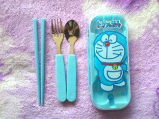 Sendok Anak Cartoon Stainless Steel Cutlery doraemon