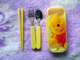 Sendok Anak Cartoon Stainless Steel Cutlery pooh