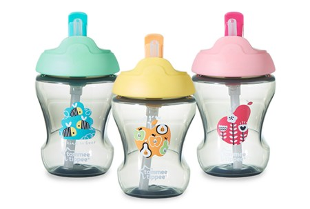 tommee tippee straw cup 9+ all non handle