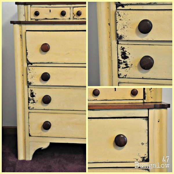 Yellow Milk Paint - And Text Message Garage Find Bungalow 47