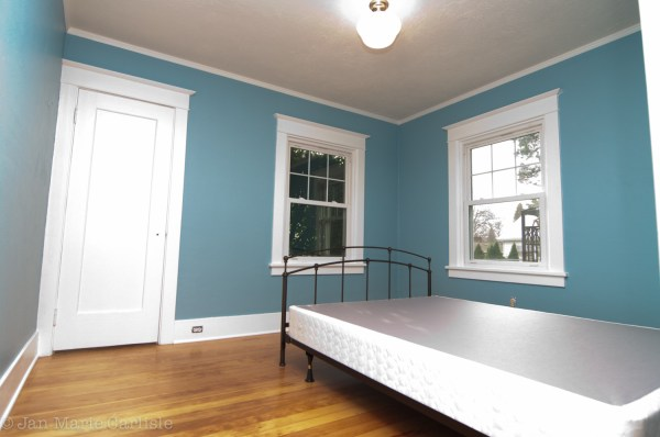 Refinished Floors And Paint Bungalow Blooming