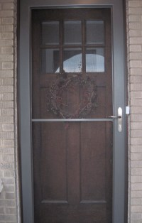 Storm Door to Screen Door: Signs of Spring | Bungalow ...