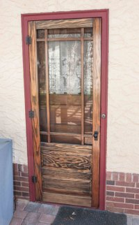 Wood Storm/Screen Doors for Bungalows  Twin Cities ...