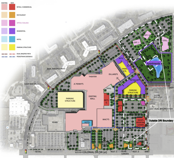 Fashion Square Mall Plan