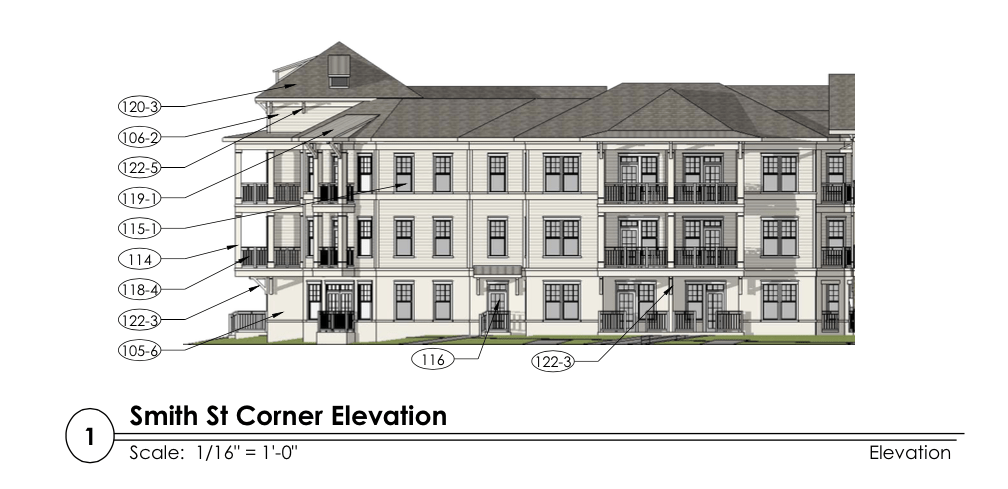 The Princeton developer scales back project to comply with
