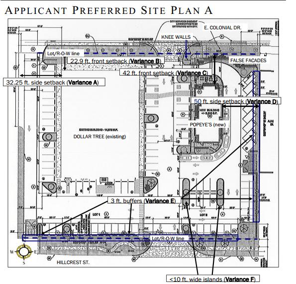 Applicant Preferred Site Plan A