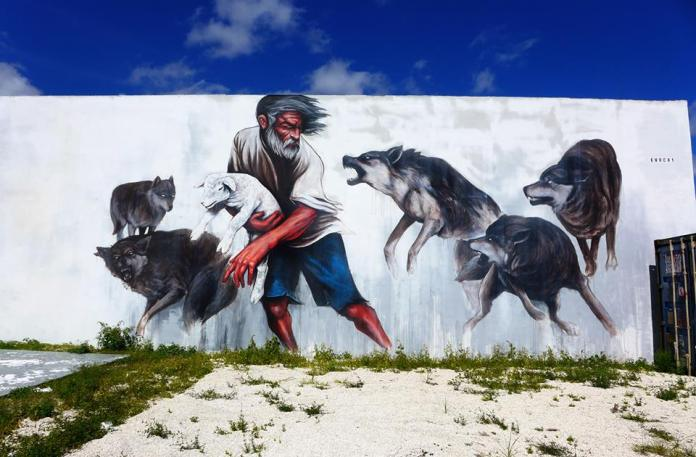 """Photo of """"Running With Wolves"""" by Sookie Endo"""
