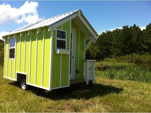 Based On A Heavy Duty DOT Certified Steel Trailer Frame This 72 SF Tiny Home Is For Sale 19000 HERE The Original Listing